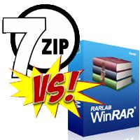 Nên sử dụng 7-Zip hay WinRAR?