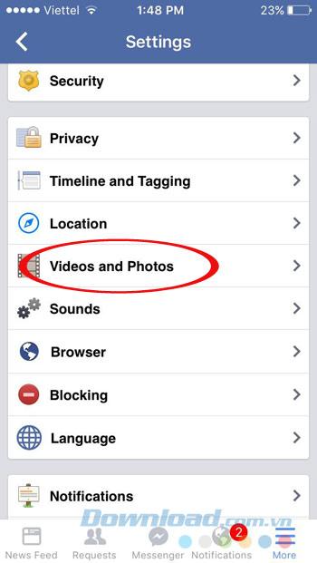 Videos and Photos