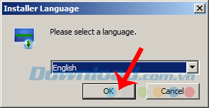 Chọn ngôn ngữ