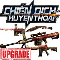 Cách nâng cấp vũ khí game Chiến Dịch Huyền Thoại