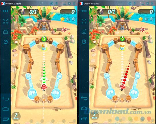 Cài game Angry Birds Action vào giả lập