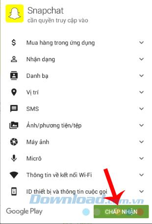 sử dụng Snapchat trên máy tính