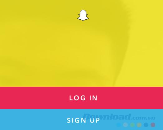 Đăng nhập Snapchat