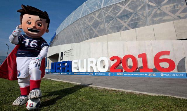 Khởi động cùng EURO 2016