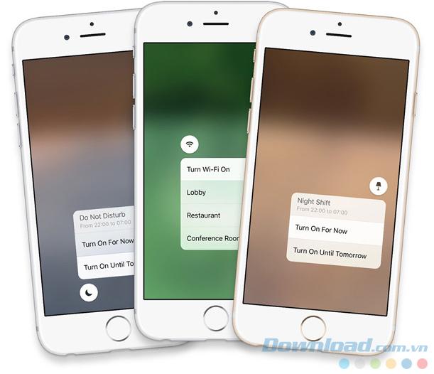 Những tính năng mới trên iOS 10