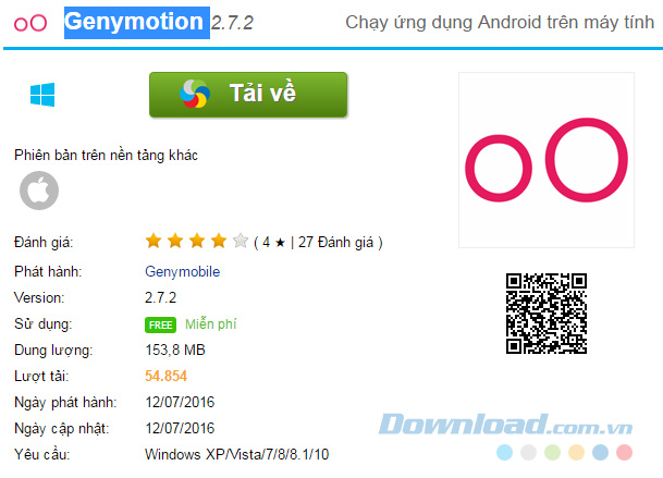 download Genymotion