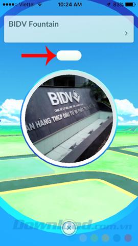 Bắt Pokemon không cần di chuyển