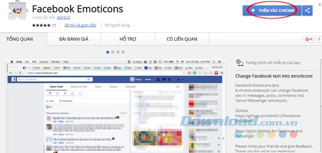 Add Facebook Emoticons