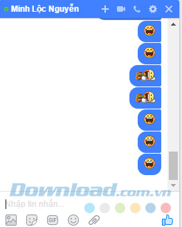 Giao diện chat chit