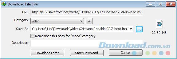 Cách tải video trên dailymotion
