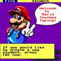Cách cài đặt Mario Teaches Typing luyện gõ 10 ngón trên Windows 10