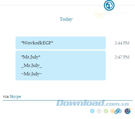 Skype không nhận font