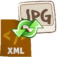 Cách chuyển từ XML sang JPG, JPEG trực tuyến
