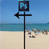 Cách xóa đối tượng thừa bằng Photoshop CS2