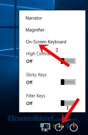 Màn hình khóa Windows 10