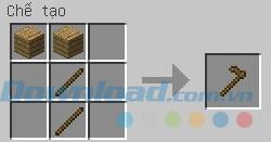 Chế tạo cuốc gỗ