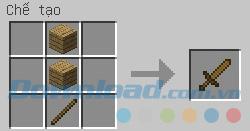 Chế tạo kiếm gỗ