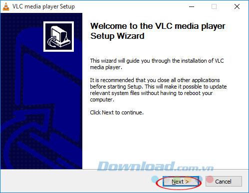 Cài đặt VLC 360
