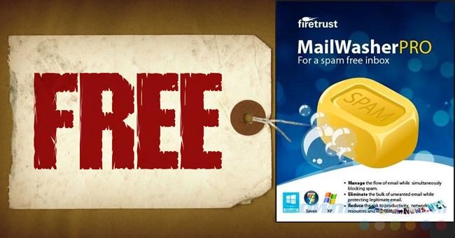[Miễn phí] Bản quyền phần mềm MailWasher Pro 7