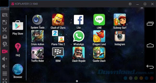Giả lập Android trên máy tính