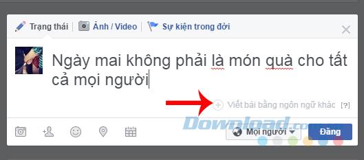 Chọn ngôn ngữ khác