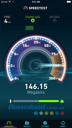 tải ứng dụng kiểm tra tốc độ mạng
