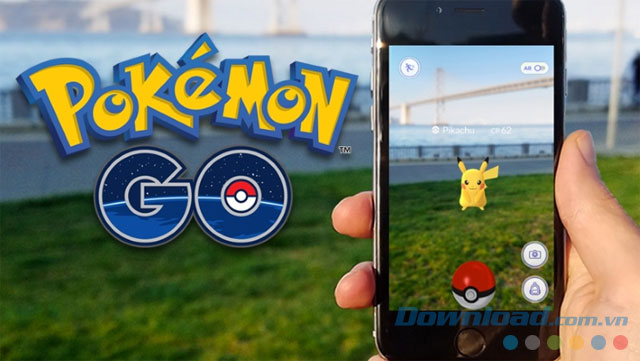 Game phiêu lưu Pokemon GO
