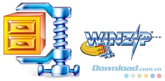 Phần mềm nén file WinZip