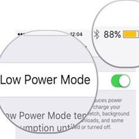 Cách bật chế độ nguồn điện thấp trên iPhone, iPad
