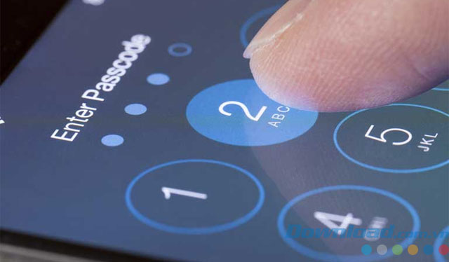 Đặt mật khẩu cho iPhone