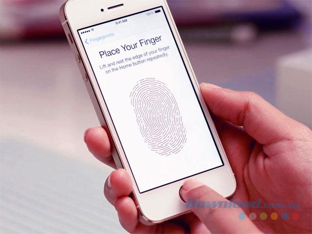 Cài đặt Touch ID