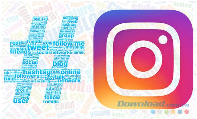 Dùng hashtag Instagram thông minh