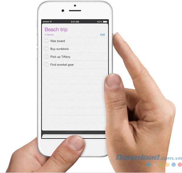 Chụp màn hình iPhone bằng phím cứng