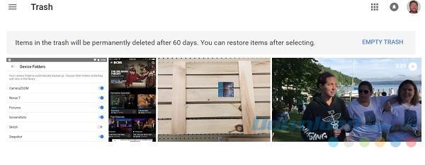Phục hồi file đã xóa hơn 60 ngày