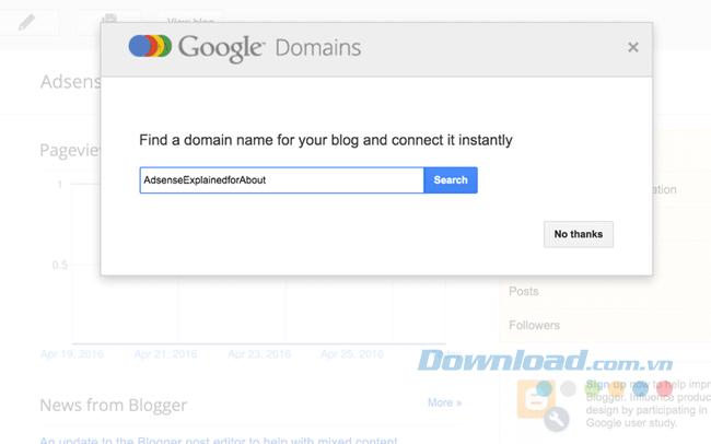 Đăng ký Domains