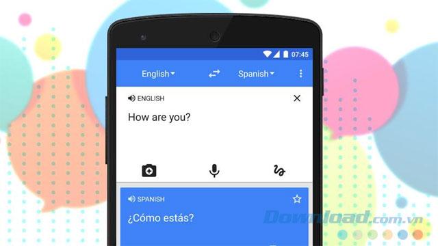 Công cụ biên dịch miễn phí Google Translate