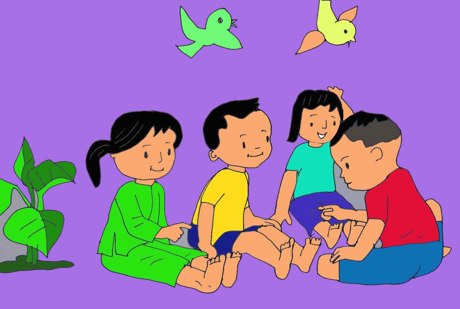 Trò chơi dân gian cho trẻ