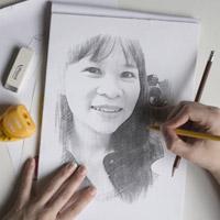 Cách biến ảnh chụp thành tranh vẽ bút chì