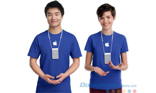 Chưa được hỗ trợ từ Apple