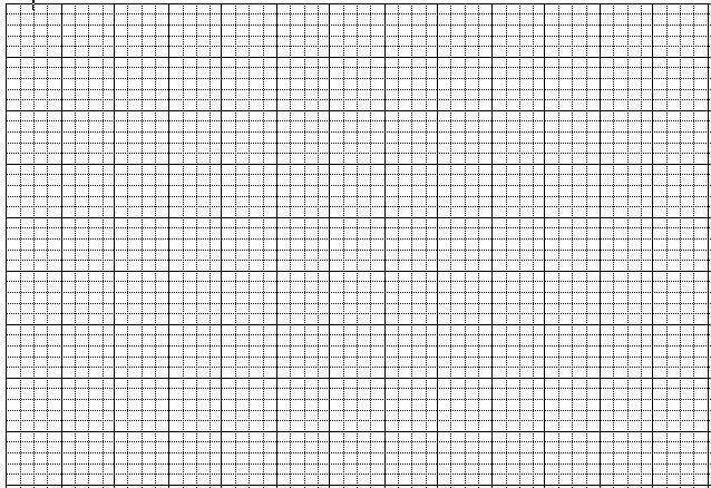 Mẫu giấy 5 ô ly - Mẫu giấy luyện viết chữ