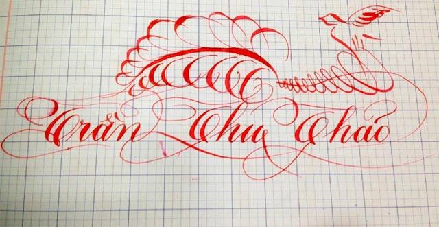Mẫu chữ nghệ thuật