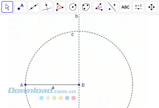 Vẽ vòng tròn c
