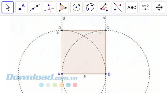 Hình vuông ABCD