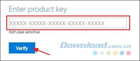 Nhập key sản phẩm