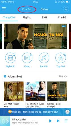 NhacCuaTui Android