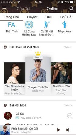 NhacCuaTui iOS