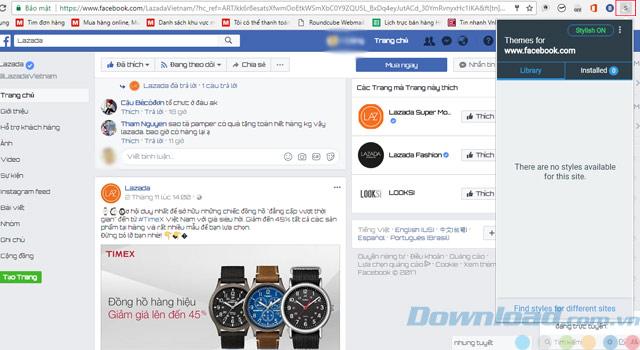 Facebook-Theme