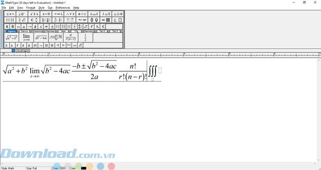 Hướng dẫn cách tải và cài đặt MathType trên máy tính