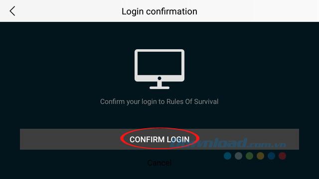 Đồng ý đăng nhập
