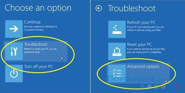Kích hoạt Safe mode Windows 10